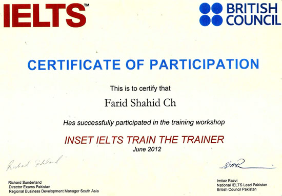 ielts british council pakistan online registration